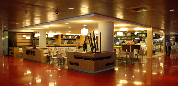 Restaurante APTC en Terminal 1 Aeropuerto Barcelona 01