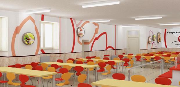 Interiorismo dise o e interiorismo en sevilla for Servicios escolares arquitectura