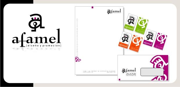 Logotipo e Identidad Corporativa Afamel