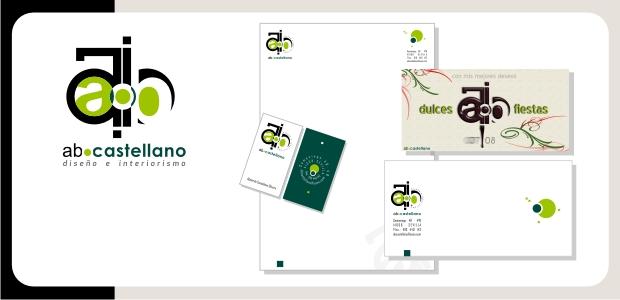 Logotipo e Identidad Corporativa abcastellano