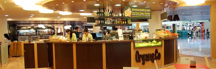 Diseño e Interiorismo de restaurante Multimarcas en T! del Aeropuerto de Barcelona