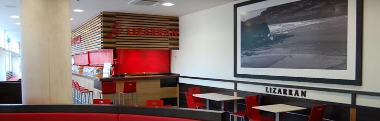 Diseño e Interiorismo de restaurante Lizarran