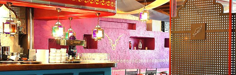Diseño e Interiorismo de restaurante Étnico