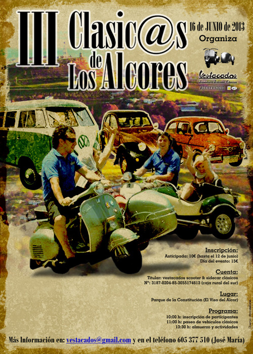 Cartel Clasicas Alcores